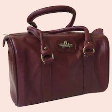 Vintage Ettiene Aigner Leather Satchel Purse