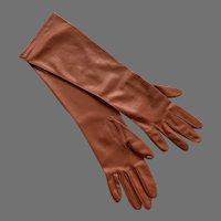 REDUCED Vintage NWT Van Raalte Nylon Gloves Size  7