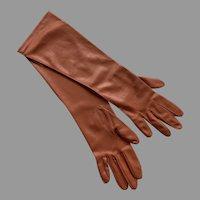 Vintage NWT Van Raalte Nylon Gloves Size  7