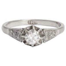 Art Deco 1930s Diamond Engagement Ring