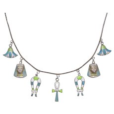 1930s Egyptian Revival Necklace