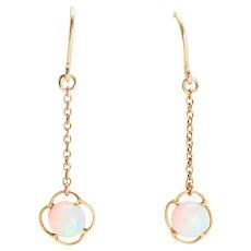 Late Victorian Opal Drop Earrings