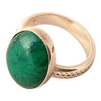 Vintage Eilat Stone Sterling silver Ring