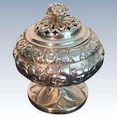 Table Pomander Solid Silver. Joseph Biggs , London 1825.