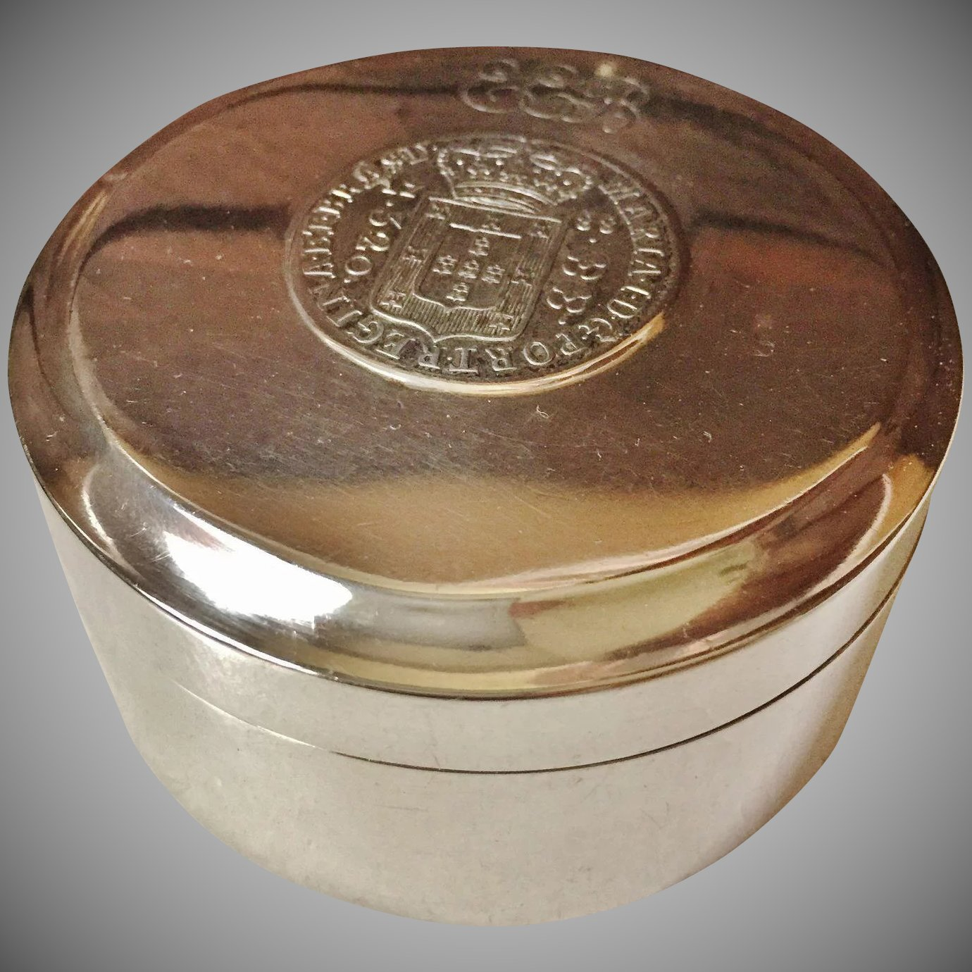 Most Sought After Antiques: 1804 Solid Silver Trinket Box. Sweden's Most Sought After