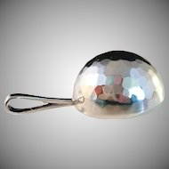 Vintage 1977 Sterling Silver Disco Ball Large Pendant.  Famous Modernist ALTON, Sweden. Very rare.