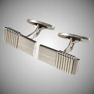 Georg Jensen Sterling Silver Cufflinks Design # 80 by Harald Nielsen