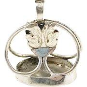 Georgian Sterling Silver Intaglio Fob Seal Pendant. Isak Österberg 1812-1820, Sweden.