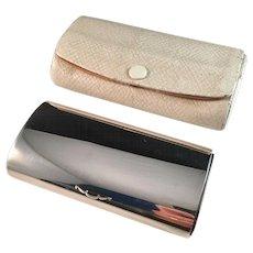 Vintage Georg Jensen Sterling Silver Trinket Box Vanity Case. Design #192A