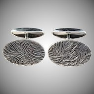 Ern Design, Finland year 1968 Solid Silver Cufflinks.