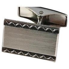 Jase, Finland year 1964 Solid Silver Cufflinks. Excellent.