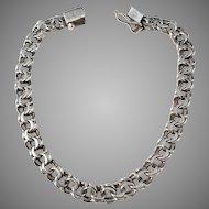 Hugo Grun, Copenhagen Solid 830 Silver Mid Century Bracelet.