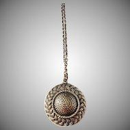 Pentti Sarpaneva, Finland (1925-1978) Modernist 1960s Bronze Pendant Necklace.