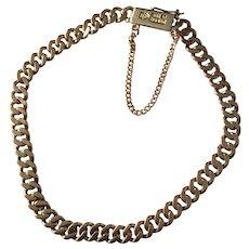 G Dahlgen, Sweden year 1928, 18k Gold Bracelet. Excellent.