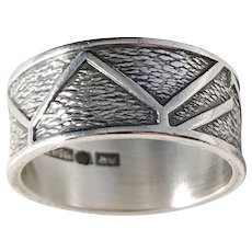 Arne Rautio, Finland year 1971 Solid Silver modernist Ring