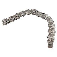 K. Viinamäki, Finland year 1935 Solid Silver Bracelet.