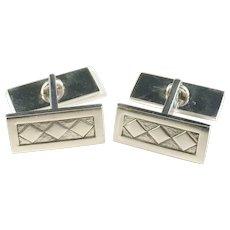 Elis Kauppi, Kupittaan Kulta Finland year 1964 Solid Silver Cufflinks