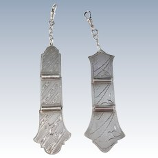 Two Finnish Solid Silver Chatelaines. Hallmarked