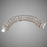 L.Gunnari, Finland year 1935 Solid Silver Bracelet.