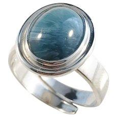 Ove Nordström, Sweden 1970s Sterling Silver Bergslagen-stone Ring.