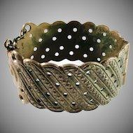 Kalevala Koru, Finland Vintage Massive 2.87oz Bronze Bracelet.