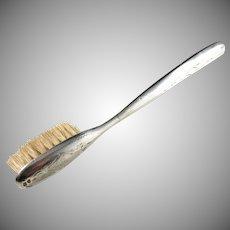 Antique Sterling Silver Moustache Brush. Sweden c 1900.