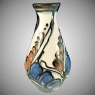DANICO, Denmark 1900-1929 Art Nouveau Earthenware Pottery Vase.