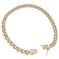 CG Hallberg year 1958 Mid Century 18k Gold Bismark Unisex Bracelet.
