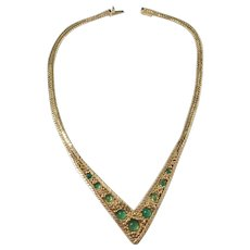 Henkel and Grosse, Germany 1966, Costume Jewelry Necklace.