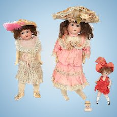 Lot of two Armand Marseille Dolls. 1894 and 390