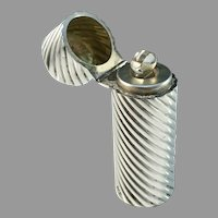 William Neale, Birmingham year 1892 Victorian Sterling Silver Perfume Bottle.