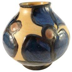 H A Kähler, Denmark Mid Century Pottery Vase