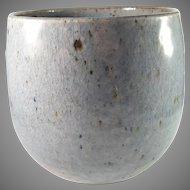 Gustav and Ulla Kraitz, Sweden 1960-70s. Ceramic Stoneware Pot Own Studio Signed