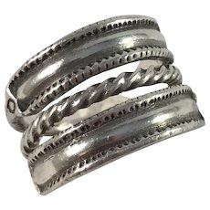 Bengt Hallberg Sweden Vintage Viking Copy Sterling Silver Ring.