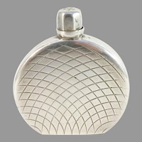 Egon Lauridsen, Denmark 1930-40s Solid 830 Silver Perfume Bottle. Provenance