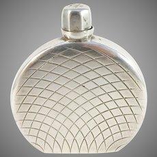 Egon Lauridsen, Denmark 1930-40s Solid 830 Silver Perfume Bottle. Provenance