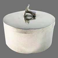 Sing Fat, Canton China c year 1910 Antique Solid Silver Novelty Shirt Studs Cufflinks Box.