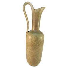 "Gunnar Nylund for Rörstrand, Sweden 1950s Mid Century 8.8"" Ceramic Stoneware Vase."