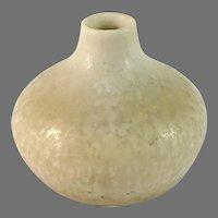 Carl-Harry Stålhane for Rörstrand, Sweden 1950s Miniature Stoneware Vase