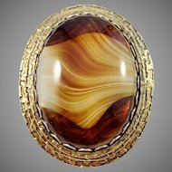 Signed Original by Robert, Fashioncraft Jewelry Co NY, USA 1942-79 Mid Century Costume Jewelry Brooch Pendant