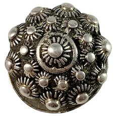 Niklas Ramberg, Sweden 1803-47, Georgian Solid Silver Button.
