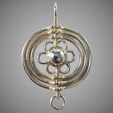 Alpo Tammi, Finland Vintage Sterling Silver Pendant.