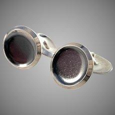 Jase, Finland 1964 Vintage Silver Cufflinks