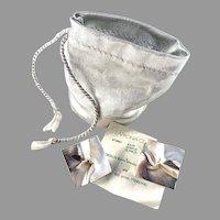 Björn Weckström for Lapponia Finland. Vintage Sterling Silver Large Stud Earrings. Design Shield.