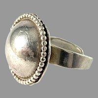 Owe Johansson, Sweden. Vintage Sterling Silver Ring. Signed