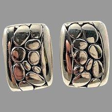KM-a, Finland Vintage Sterling Silver Stud Earrings