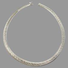 Germany Vintage Solid 835 Silver Necklace. 1.37oz / 42.7gram