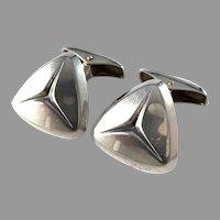 Elis Kauppi,  Kupittaan Kulta Finland year 1960. Solid Silver Cufflinks.