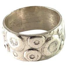 Aleksi Saviala, Finland 1974 Sterling Silver Ring.