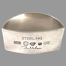 Rey Urban, Sweden 1963. Sterling Silver Napkin Ring.